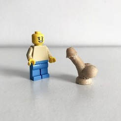 Free 3d printer files LEGO Dickhead, Pierre