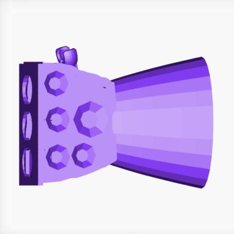 Free 3D printer designs infinity glove part1, joshuaduran