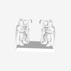 Free 3D model Shield Dwarfs, mrhers2