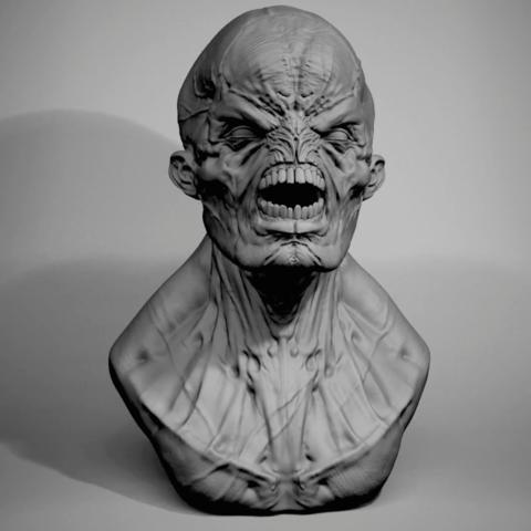 Plan 3D gratuit Creature miniature, mdstudio3d