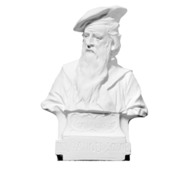 Download free 3D printing models Bust of Gutenberg (Photosculpture), ThreeDScans