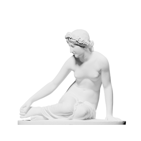 Capture d'écran 2018-09-13 à 16.42.34.png Download free OBJ file La Nymphe Salmacis • 3D print object, ThreeDScans