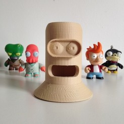 Download free 3D printing designs Bender Pen Holder, Pierre
