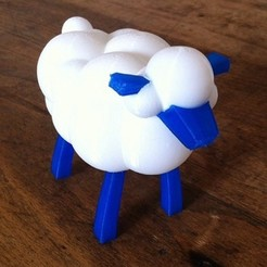Download free 3D printing templates The Sheep, Pierre