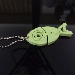 Imprimir en 3D gratis Pez de prueba de la brecha, Amao