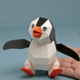 Download free STL file Penguin by the Anchor, Amao