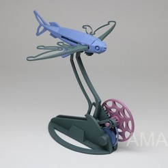 Download free 3D printer designs Flying Fish, Amao