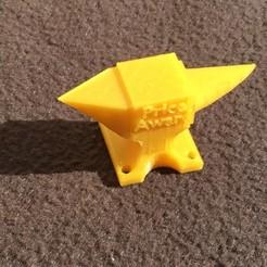 Diseños 3D gratis Premio Anvil Price, Almisuifre