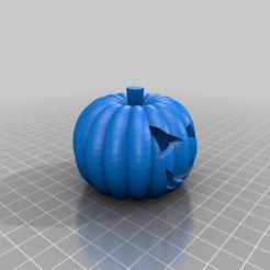 Descargar modelos 3D gratis Halloween LED calabaza con Tinkercad, Eunny