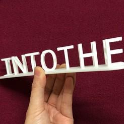 IMG_0200.jpeg Télécharger fichier STL gratuit Vers l'inconnu ! Illusion à deux lettres avec Tinkercad • Objet pour imprimante 3D, Eunny