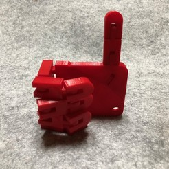 IMG_7308.jpeg Download free STL file Flexible Hand with Tinkercad • 3D printing design, Eunny