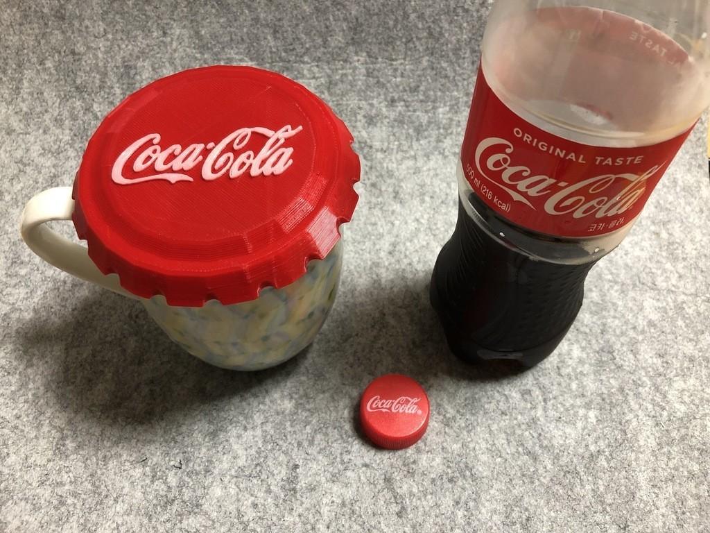 b7f17610d2bf03ed63aa29d3b7a025a0_display_large.jpeg Download free STL file BIG Coca cola cap • 3D printable model, Eunny