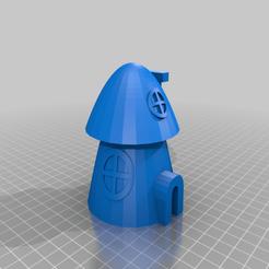 Mushroom_House_all.png Télécharger fichier STL gratuit Maison Tinkercad 7 Champignon • Design à imprimer en 3D, Eunny