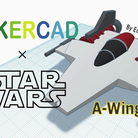Free 3D model Simple A wing, Eunny