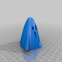 Halloween_x_LED_Ghost_EUnnt.png Télécharger fichier STL gratuit Fantôme LED d'Halloween avec Tinkercad • Design pour imprimante 3D, Eunny