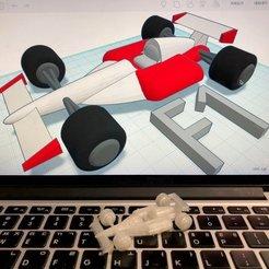 Descargar modelo 3D gratis F1 Racing Car con Tinkercad, Eunny