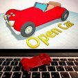 Free STL Open Car with Tinkercad, Eunny