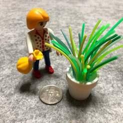 IMG_7508.jpeg Télécharger fichier STL gratuit Pot de fleurs miniature avec Tinkercad + stylo 3D • Objet pour impression 3D, Eunny