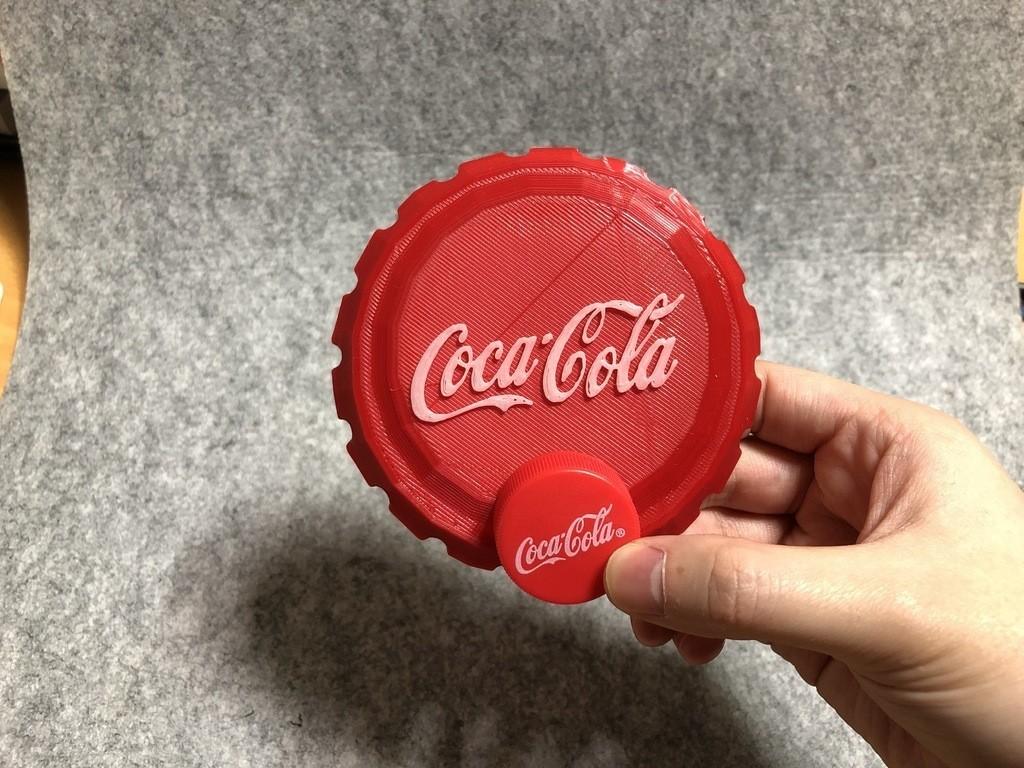 cc4f63981dd89c33320983945bc0ddc8_display_large.jpeg Download free STL file BIG Coca cola cap • 3D printable model, Eunny