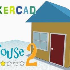 Descargar modelo 3D gratis Casa 2 _Nivel 2 con Tinkercad, Eunny