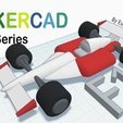 Download free 3D printer files F1 Racing Car with Tinkercad, Eunny