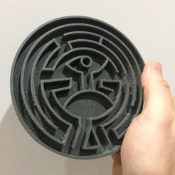 Free 3D printer model The Maze (Westworld), Dano