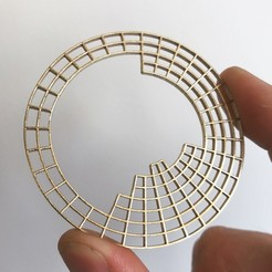 Free 3D printer files Circular Periodic Table, Dano