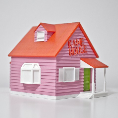 Download free 3D printing models Kame House from Dragon Ball, Pepo_Aliaga