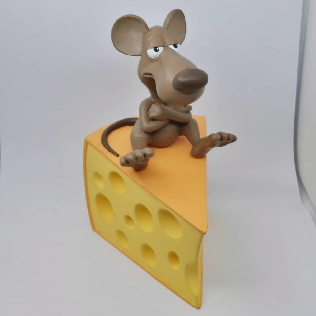 IMG_20180318_185845_432.jpg Download OBJ file A rat on a cheese • Object to 3D print, didoff