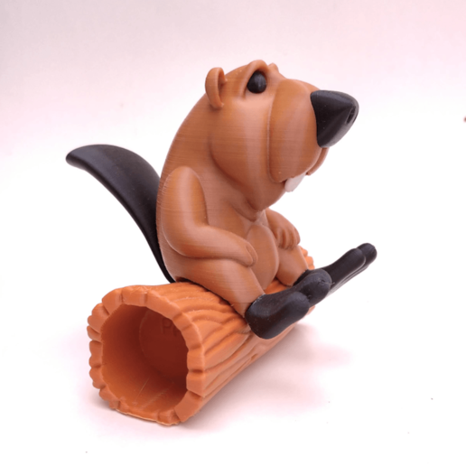 castor01.png Download STL file BOB the Beaver • 3D printable template, didoff