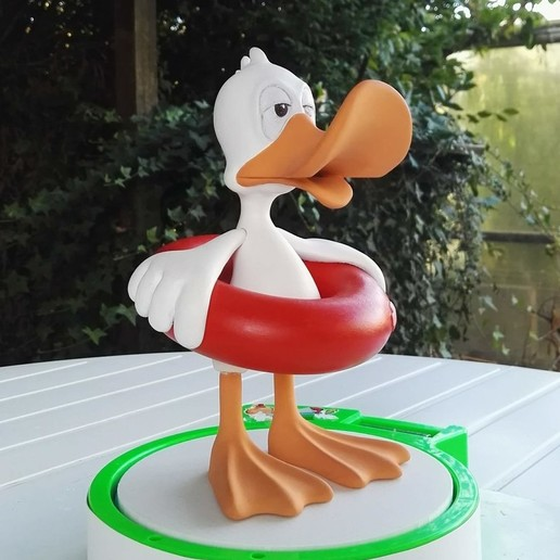 Download STL The duck at the buoy, didoff