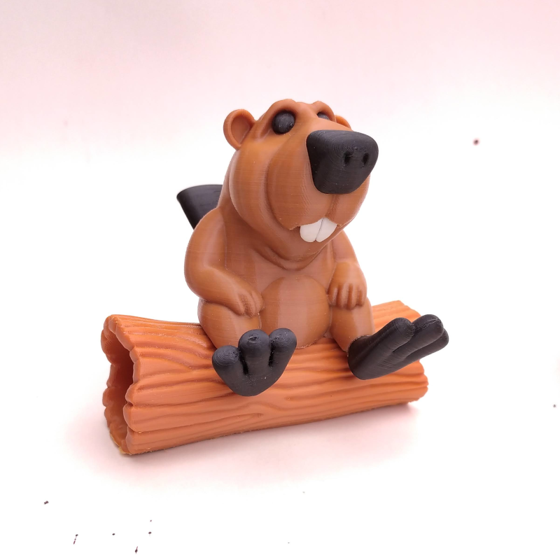 castor04.png Download STL file BOB the Beaver • 3D printable template, didoff