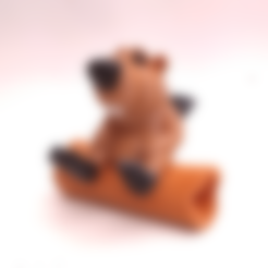 Castor.stl Download STL file BOB the Beaver • 3D printable template, didoff