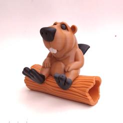 castor02.png Download STL file BOB the Beaver • 3D printable template, didoff
