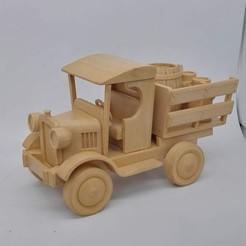 Descargar archivo 3D Furgoneta de imitación de juguete de madera......, didoff