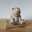 castor05.png Download STL file BOB the Beaver • 3D printable template, didoff