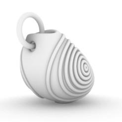 Pouch.JPG Download STL file Perfume Pouch Pendant • 3D printable template, josephkey