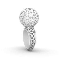 M31d.JPG Download STL file M31 Ring • Design to 3D print, josephkey