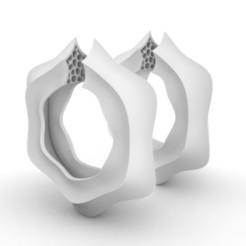 M20 Earrings a.JPG Download STL file M20 Earrings • Template to 3D print, josephkey