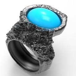 untitled.279.jpg Download STL file Lapis Ring • 3D printing object, josephkey