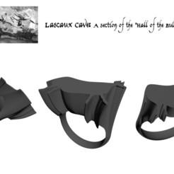 Archivos 3D Sala de toros de Lascaux, josephkey