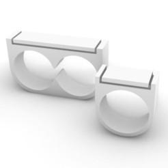 Télécharger objet 3D Bague 8 (Duo), josephkey