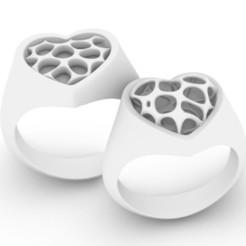 LOVE b.JPG Download STL file LOVE for Couple • 3D printing object, josephkey