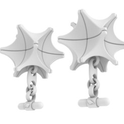 A14.JPG Download STL file A14 Cufflinks • 3D printer template, josephkey