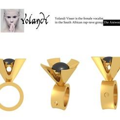 3d model Yolandi, josephkey