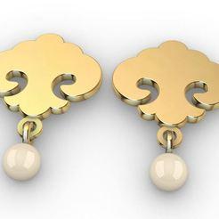 Pearl Earring.JPG Télécharger fichier STL Perles ornementales • Plan pour impression 3D, josephkey