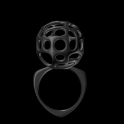 Download 3D printer files Voronoi Ring, josephkey