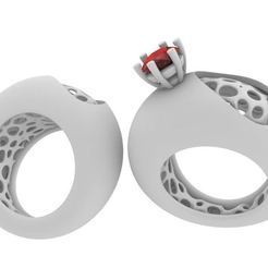 Download 3D printer templates Ring ab, josephkey