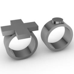 Download 3D printing templates Cross & punkt, josephkey