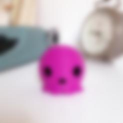 3d printer designs Skull toy, JLP
